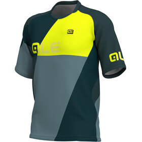 Alé Cycling Enduro Rampage - Maillot manches courtes Homme - jaune/gris
